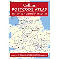 Collins Hardback Postcode Atlas of Great Britain and Northern Ireland - Latest Edition