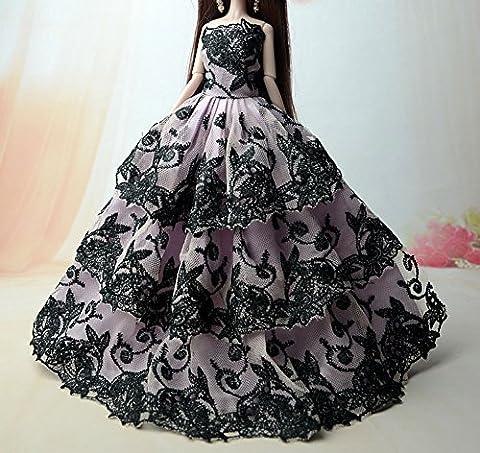 BK02 Mode magnifique robe de soirée à la main pour