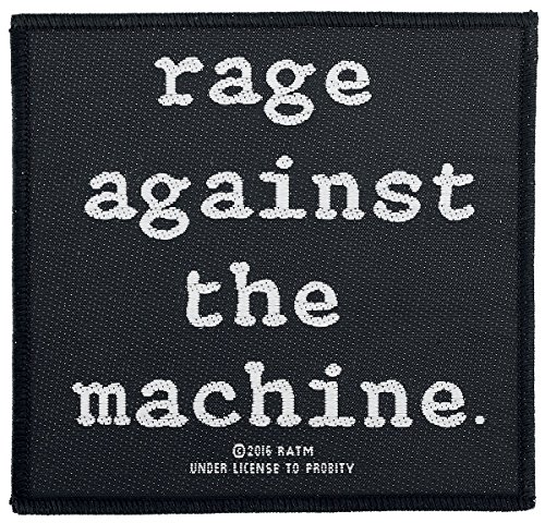 Rage Against The Machine Logo Patch Standard (Machine-patches Rage Against The)