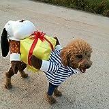 Pet Online Festival Halloween Costume de vêtements de chien fantaisie Dress Up Amusant Animal don de vêtements pour chien et chat , Longueur du dos 32 cm, poitrine41-47cm, cou30-34cm...