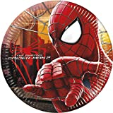 20cm Marvel Amazing Spiderman Party Plates, Pack of 8
