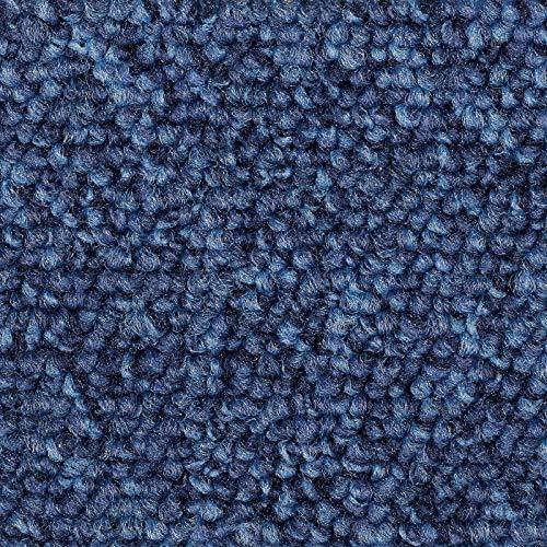 Teppichboden Auslegware | Schlinge Büro | 400 und 500 cm Breite | blau | Meterware, verschiedene Größen | Größe: 6,5 x 4m