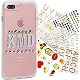 Case-Mate CM034758X - Funda para Apple iPhone 7+ / 6+ / 6S+, color transparente personalizado