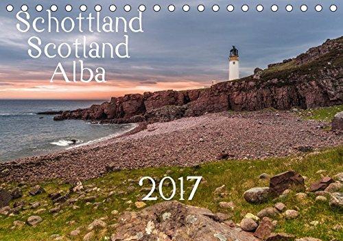 Schottland - Scotland - Alba (Tischkalender 2017 DIN A5 quer): 13 brillante Bilder zeigen Schottlands faszinierende Landschaft auf beeindruckende Weise. (Monatskalender, 14 Seiten ) (CALVENDO Orte) -