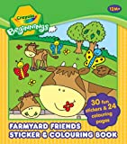 Crayola Beginnings Farmyard Friends Sticker & Colouring Book