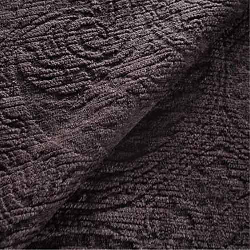 Berkeley Sofa (Berkeley 'mokka Paisley': Braun Chenille Polster Sofa Kissen Flammschutzmittel Stoff Gewebe Loome 10 x 14 cm sample Berkeley 'Mocha Paisley' : Brown)