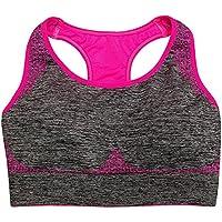 Zyurong? Da donna Ultra Comfort Seamless Top Sport Reggiseno Sport Reggiseno Yoga Fitness Jogging Pad Canotta Racer aerobica danza Gilet