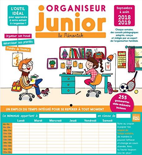 Organiseur Junior Mémoniak 2018-2019