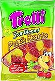 Trolli Sour Gummi Peach Hearts Halal Fruchtgummi 175 g