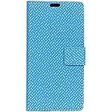Asus ZenFone Live L1 (ZA550KL) Case, Codream Asus ZenFone Live L1 (ZA550KL) Durable Protective Case Folio Flip Cover Protector Slim Shell For Asus ZenFone Live L1 (ZA550KL) (Blue)