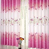 LQZ(TM) Rideau de Fenêtre Papillon Draperie Décoration de la Chambre 1pc 1M x 2M