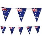 NEU Wimpelkette Australien, 10 Flaggen, 20x30 cm