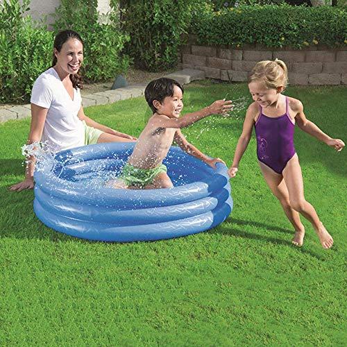 YAWJ Schwimmbad Runder Innenpool Im Sommer Kinderspielplatz Für Kinder Geeignet (Color : Blue, Size : 152 * 30{A} cm)