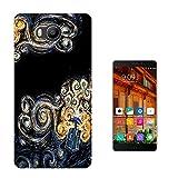 452 - Doctor Who Tardis Van Gogh Canvas Design Elephone