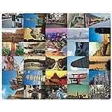 Schöne Reise-Landschaft 30PCS Künstlerische Retro Postkarten-Italien