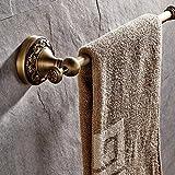 CASEWIND Kurz Handtuchring Wandmontieren Wandmontag, Haltbar Antik Messing Finished Retro Europäisch Design, Handtuchhalter