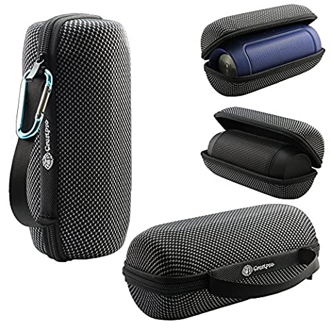Junsi Portable Zipper Hard Tasche Case Cover Holder Bag Pouch for JBL Charge 2+ 2 Plus/Charge 2 II/Pulse Bluetooth Speake Lautsprecherr
