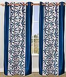 BSB Trendz Printed Set of 2 Window Curta...
