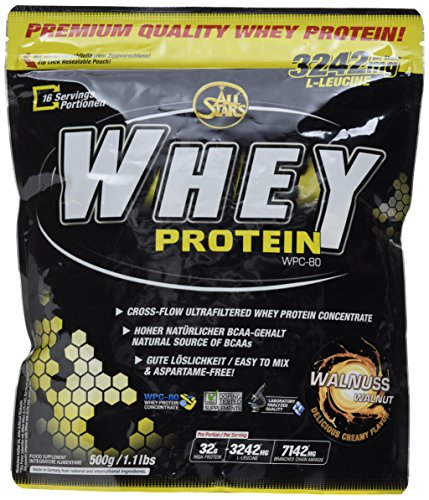 All Stars Whey Protein, Cookies-Cream, 1er Pack (1 x 500 g)