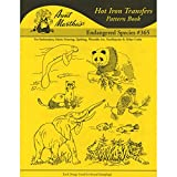 Best Aunt Martha's Aunt Books - Aunt Martha's Iron-On Transfer Book-Endangered Species Review