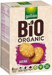 Gullón Galleta Avena Bio Organic, 1 x 250g