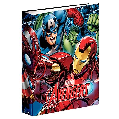 Avengers- Carpeta Anillas A4 (Montichelvo 54292)