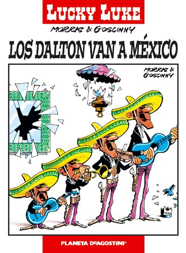 Lucky Luke nº 20 Los Dalton van a México par Morris