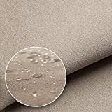 NOVELY® Triton Microfaser Velours Wildleder Optik 22
