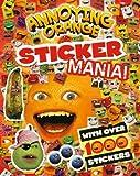 Annoying Orange Sticker Mania