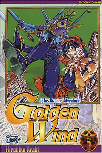 Jojo's bizarre adventure - Golden Wind Vol.5 par ARAKI Hirohiko