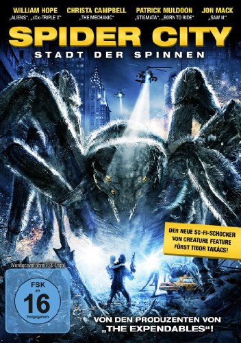 Spider City - Stadt der Spinnen