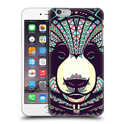 Head Case Designs Wolf Aztekische Tiergesichter 3 Ruckseite Hülle für Apple iPhone 6 / 6s Panda