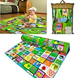 FomCcu Toddler Crawl Play Buchstabe tappetini per Baby Kid Play Game Picnic 180 x 200 cm
