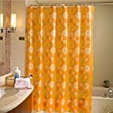 Shower Curtain Health UK Tendalino trasparente per barriera barriera fotoelettrica in stile europeo impermeabile e muffa spessore welcome (dimensioni : 180cm*200cm)