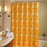 Shower Curtain Health UK Tendalino Trasparente per barriera barriera fotoelettrica in Stile Europeo Impermeabile e Muffa Spessore Welcome (Dimensioni : 180cm*200cm)