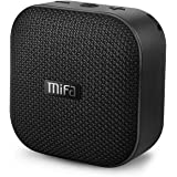 MIFA Mini Lautsprecher Bluetooth 4.2 Technologie TWS & DSP, IP56 Wasserfester und Staubdichter mit 3,5mm Audio-Eingang, Micro SD Karte Slot und Eingebautem Mikrofon für iPhone, iPad, Samsung, Schwarz