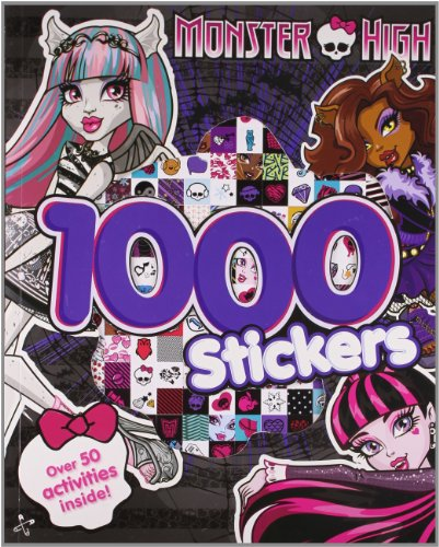 Monster High 1000 Stickers: Over 50 Activities - Childs Tiger Kostüm
