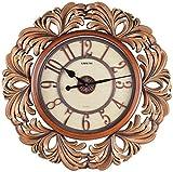 LISHENG Polyresin Wall Clock (65 cm x 65...