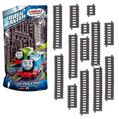 Thomas y sus Amigos - Establecer Recta Rieles de Expansión - Trackmaster Revolución - Mattel Thomas & Friends