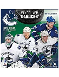 NHL Wall Calendar 2016 30x60cm Vancouver Canucks