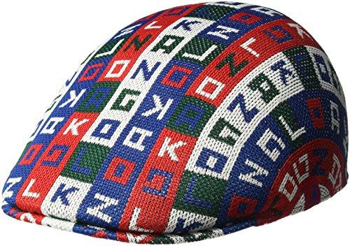 Kangol Unisex - Erwachsene Herren Color Cube 507 Ivy Cap Mütze - rot - Large