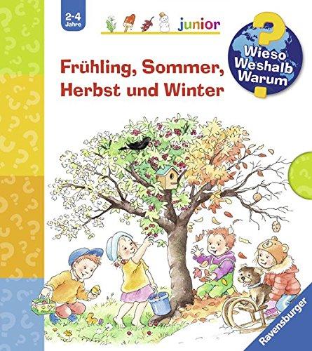 Frühling, Sommer, Herbst und Winter (Schuber): Was machen wir im Frühling? / Was machen wir im Sommer? / Was machen wir im Herbst? / Was machen wir im Winter? (Wieso? Weshalb? Warum? junior)