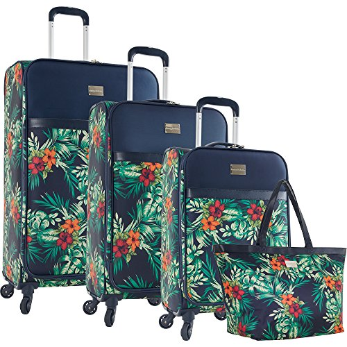 tommy-bahama-st-kitts-4-piece-luggage-set-printed-floral
