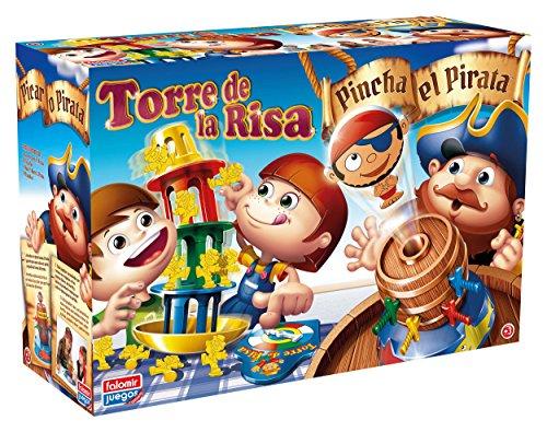 Falomir Pincha Pirata + Torre Risa Mesa. Juego Habilidades