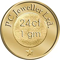 PC Jeweller 1 gm, 24KT (995) Yellow Gold Coin