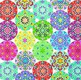 20 Servietten Mandala multi / Muster / Kreise 33x33cm