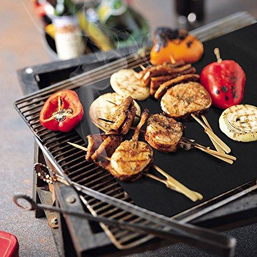 Grillmatte 2er set zum grillen und backen backpapier for Mikrowelle zum backen und grillen