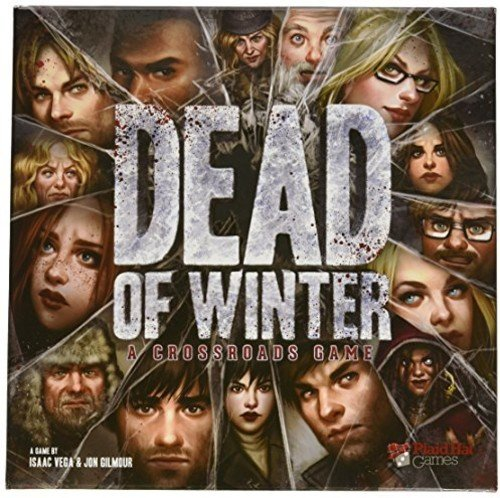 Plaid Hat Games Dead of Winter Crossroads Game, Multi Color 61mNreON4YL