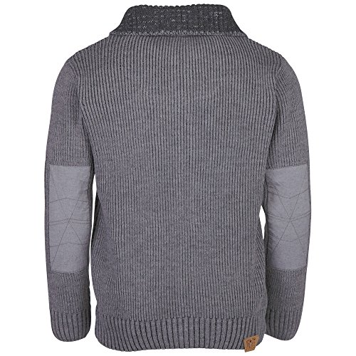 Chiemsee Herren Ove Knit Jacket Neutral Grey Melange