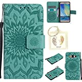 Coque PU Samsung Galaxy A5(2015) Case Wallet Phone Stand Cover with Credit Card Slots Flip Protective Case For Samsung Galaxy A5(2015) -photo Frame Keychain (*/16) (4)
